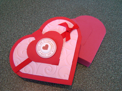 Heart Shaped Gift Box (PDF)