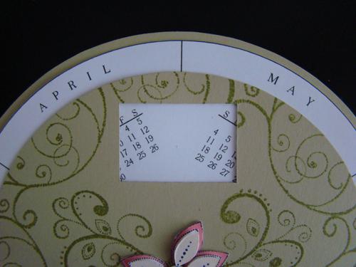 Circle Calendar 2010 Turns