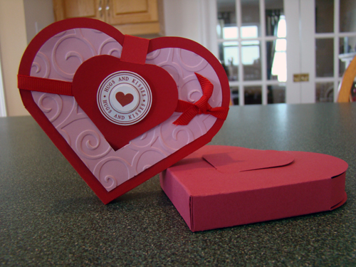 Heart Shaped Gift Box Top