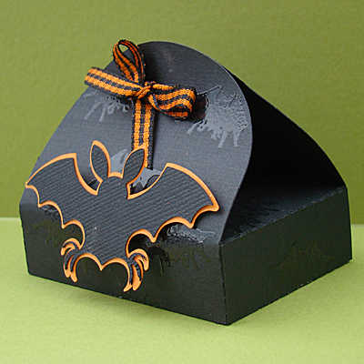 Halloween Treat Box Side