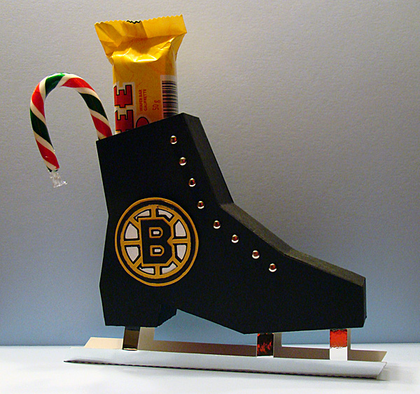 Ice Skate Gift Box - Boy
