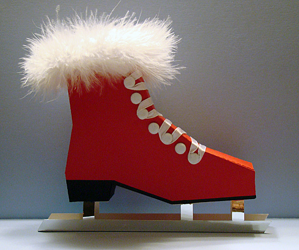 Ice Skate Gift Box - Girl