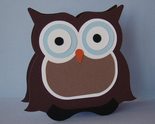 Owl Gift Box Front