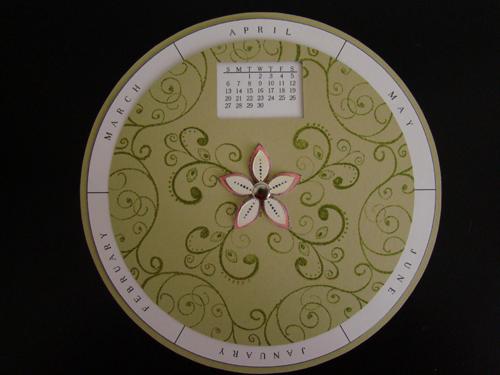 Circle Calendar 2010