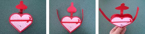 Heart Shaped Gift Box Assembly