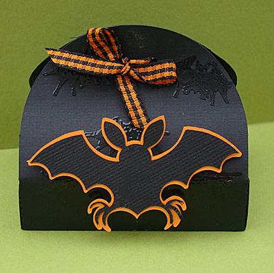 Halloween Treat Box Front