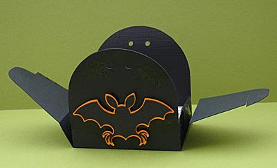 Halloween Treat Box Open